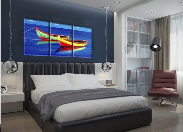 цветные лодки 3