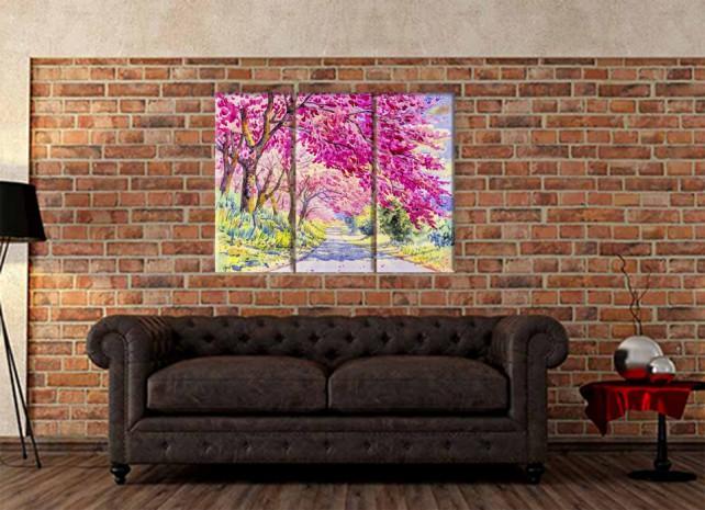 цветущие деревья 2