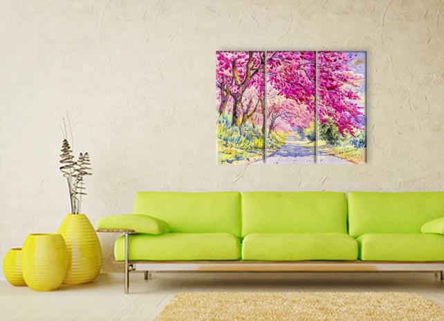 цветущие деревья 3